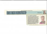 D'une rive à l'autre, L'Écho de Trois-Rivières