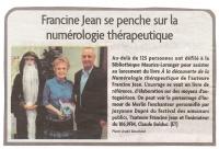 Francine Jean se penche sur la numérologie thérapeutique