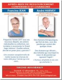 Après-midi de ressourcement le 17 décembre à 13h au Séminaire St-Joseph de Trois-Rivières